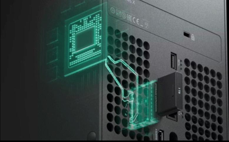 Xbox Series X/S présente sa carte de stockage externe de chez Seagate