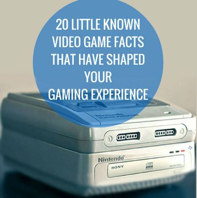 Gaming facts that have shaped modern gaming that you probably didn't know about