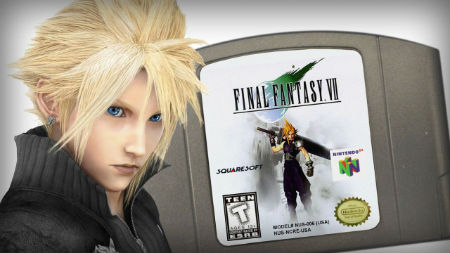 Did you know that Final Fantasy VII was suppose to be on N64? Random video game fact