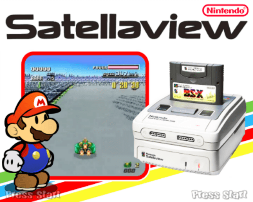 One Gaming Fact is that Nintendo allowed players to download games througha deviced named Satellaview