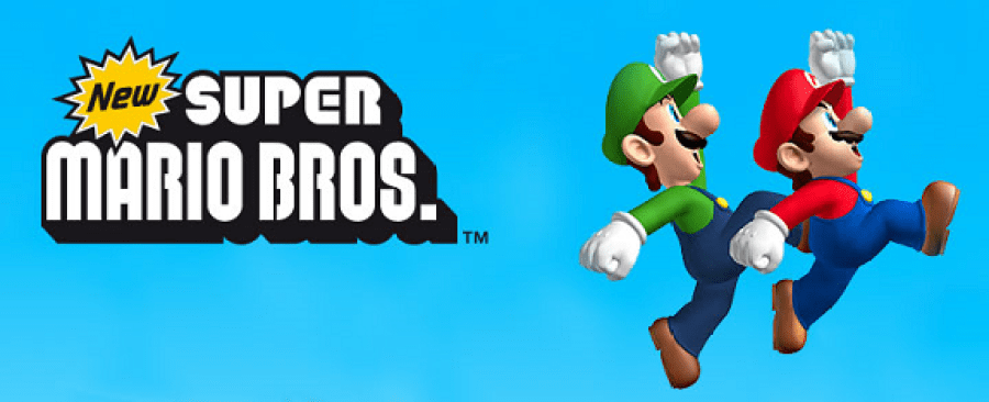 Super Mario Bros easy video games to learn