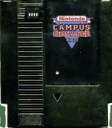 Nintendo Campus Challenge 1991 rarest video games