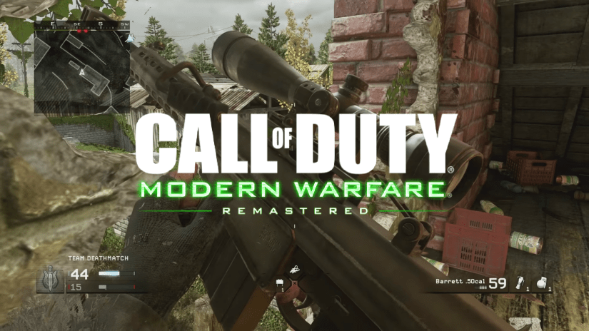Call of Duty Modern Warfare Remastered Video Game. Remastered Games and Remakes
