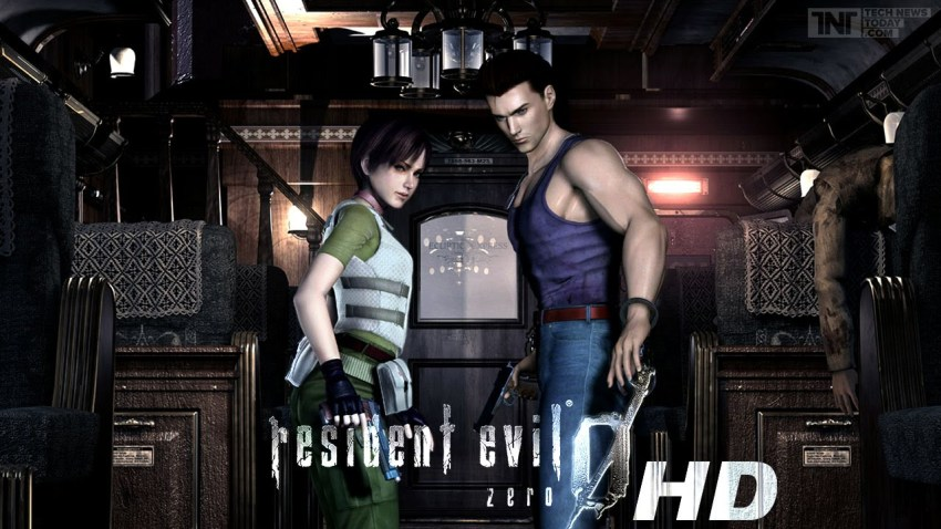 Resident Evil Zero Video Game remastered in 4K HD