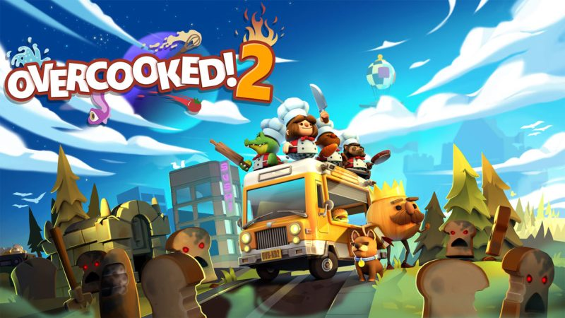 Overcooked 2 video game for couples