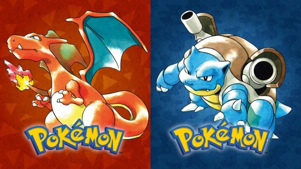 Pokemon Red and Blue video-game
