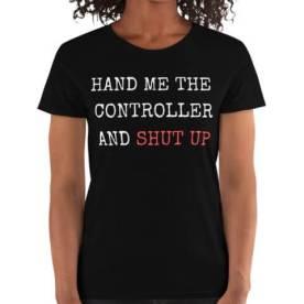 gamer girl shirt gift
