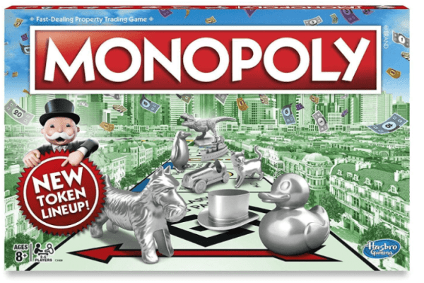 homemade Monopoly drinking game