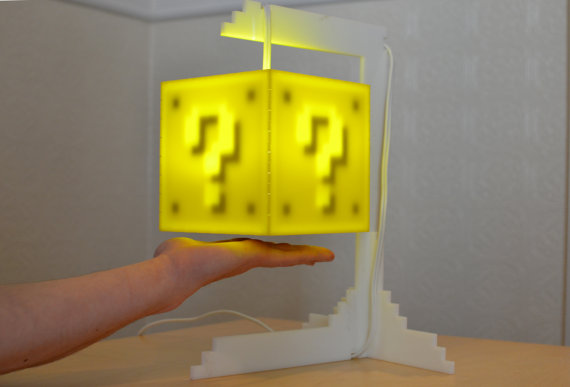 Coin-Block_3 Geek: Une lampe Block (Mario)