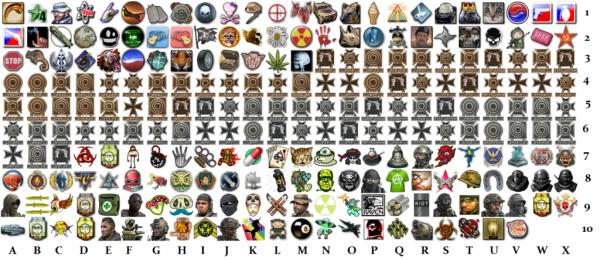 emblemes-mw3-cod COD MW3: Liste des emblèmes