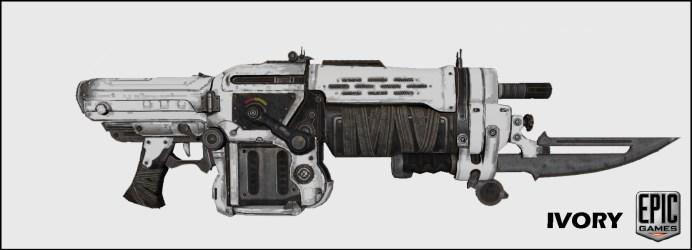 IVORY_WeaponSkin Gears of Wars 3: Les skins du prochain DLC