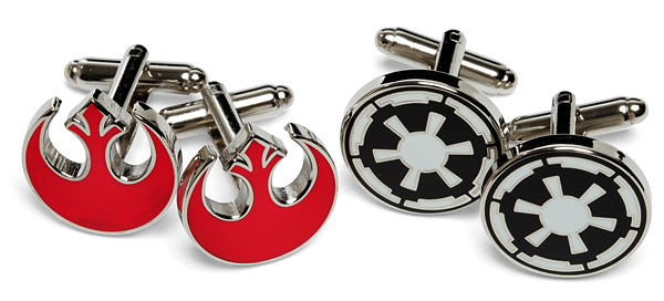 Star-Wars-Cufflinks Geek: Star Wars au bureau