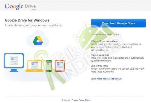 GD1-520x355 Google Drive et ses 5Go devraient bientot arriver