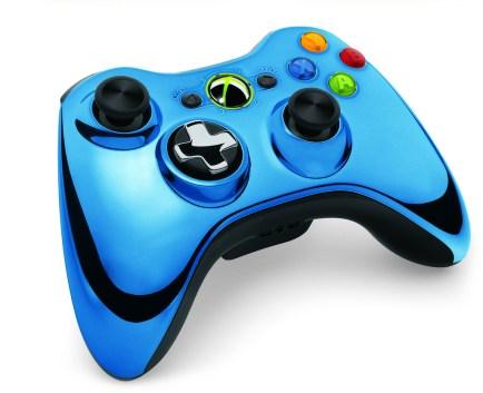 Xbox-360-D-Pad-Chrome-Series_1_ Xbox: Des manettes chromées