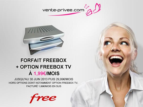 vente-privee-free Vente Privée: Freebox et Neufbox bradées dès demain!