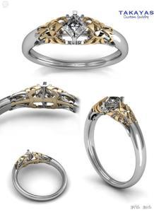 bague-zelda-2-218x300 Geek: La bague de mariage Zelda