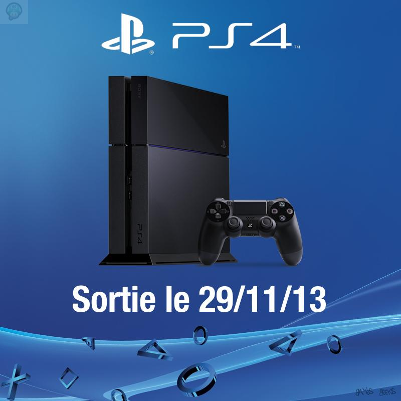 date de sortie de la playstation 4 en france. Black Bedroom Furniture Sets. Home Design Ideas