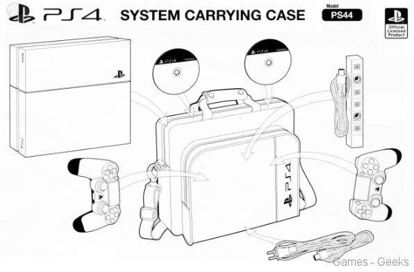 housse-ps4-2 Bigben présente ses accessoires pour Xbox One et PS4
