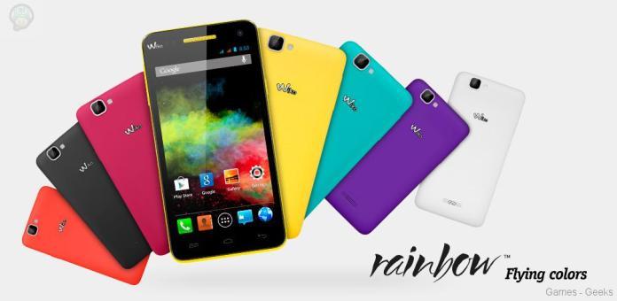 Wiko-Rainbow-gamme Wiko présente le Rainbow