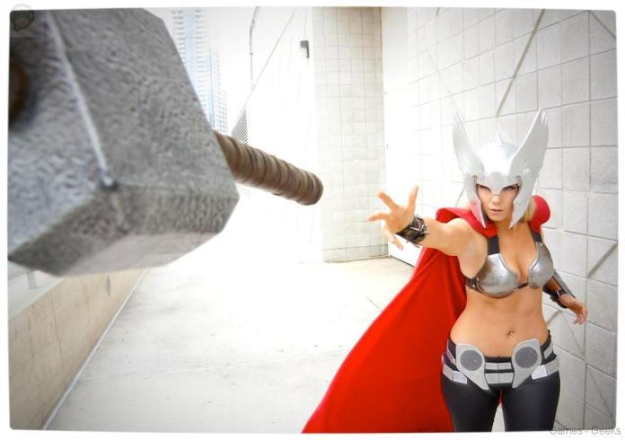 Vamers-Geekosphere-Thorsday-Toni-Darling-Gender-Bends-Thorsday-Toni-Darling-as-Thor-05 Cosplay - Lady Thor #25