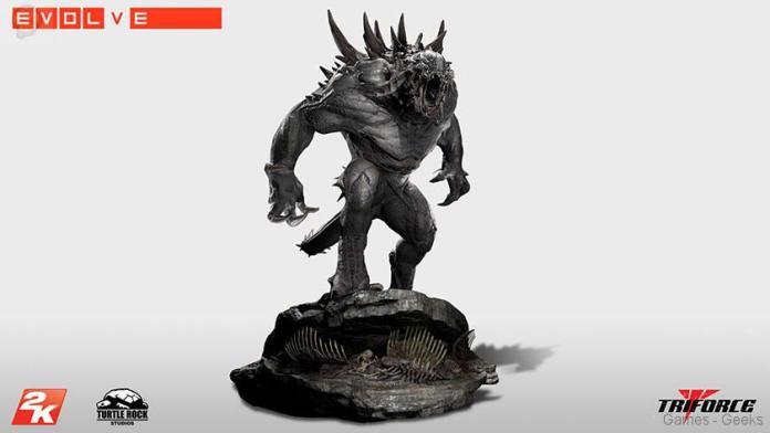 Evolve-Goliath-Monstre-TriForce-statuette-02 Figurine : Découvrez Goliath d'Evolve