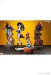 marvel-spider-man-classic-polystone-statue-10 Figurine : SpiderMan