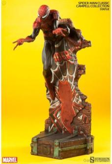 marvel-spider-man-classic-polystone-statue-5 Figurine : SpiderMan
