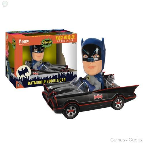 Batman-1966-TV-Series-Batmobile-Bobble-Head-Vehicle Geek : Sélection de figurines de l'univers Batman