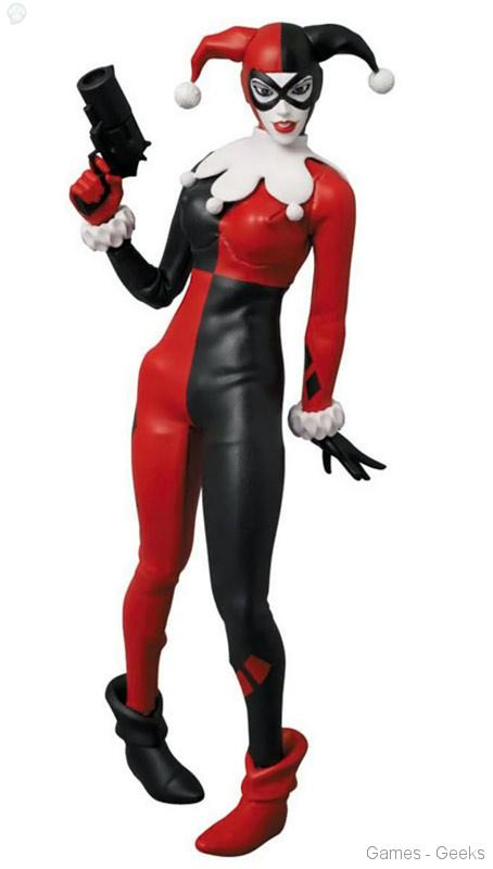Harley-Quinn-Real-Action-Hero-Action-Figure Figurine - Real Action Hero - Harley Quinn & CatWoman