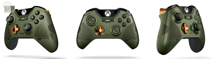 1438747632-xbox-one-limited-edition-halo-5-master-chief-controller Une Xbox One aux couleurs de Halo 5