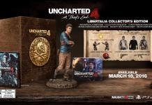 uncharted 4 - edition collector PS4