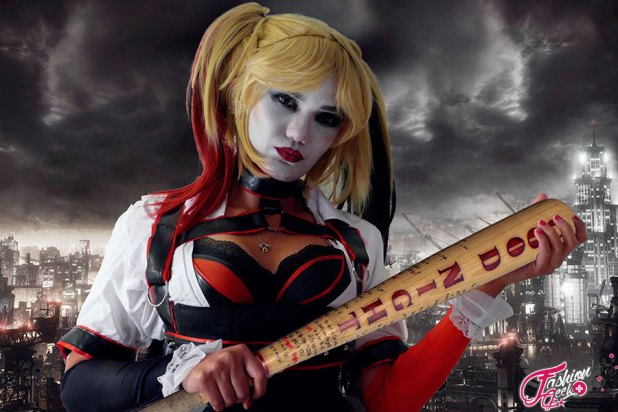 Toulouse-game-show-2015-5-1 Cosplay - Harley Quinn #100