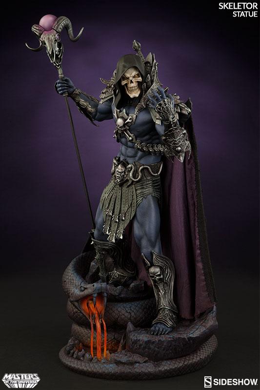 masters-of-the-universe-skeletor-statue-200460-03 Figurine Sideshow - Les maitres de l'univers - Skeletor