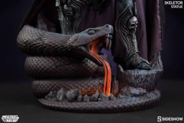masters-of-the-universe-skeletor-statue-200460-12 Figurine Sideshow - Les maitres de l'univers - Skeletor