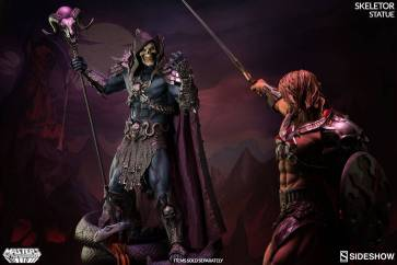 masters-of-the-universe-skeletor-statue-200460-13 Figurine Sideshow - Les maitres de l'univers - Skeletor