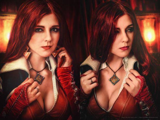 triss_merigold__the_witcher_3___3__by_virdaseitr-d9m0xfs-1024x768 Cosplay - Triss - The Witcher #104