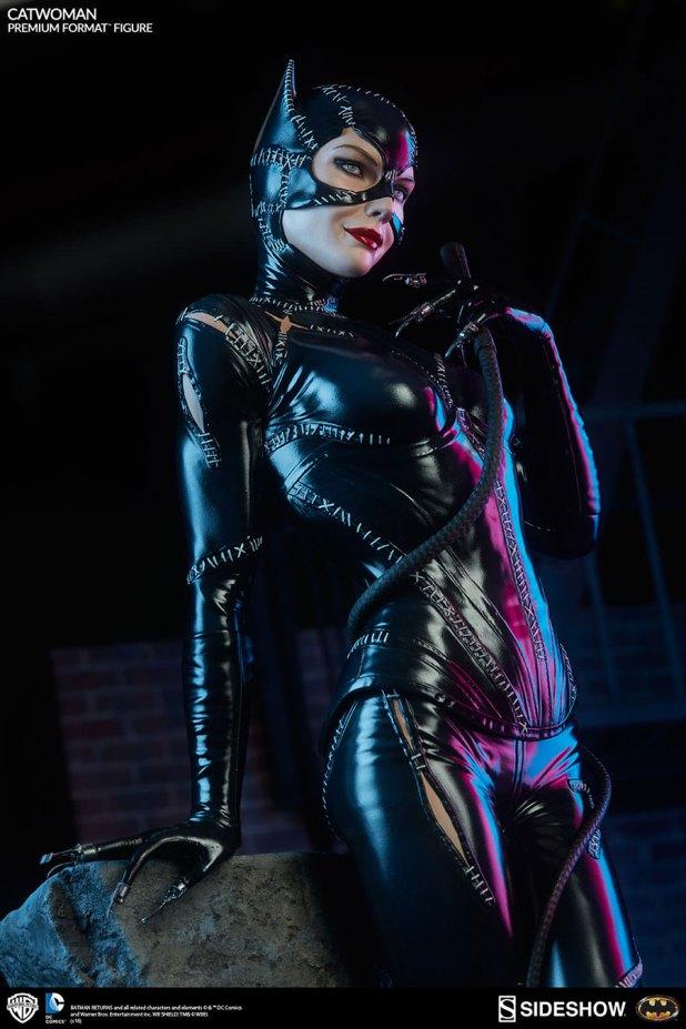 Sideshow-Catwoman-Statue-4-620x930 CatWoman est à l'honneur chez Sideshow avec une nouvelle figurine