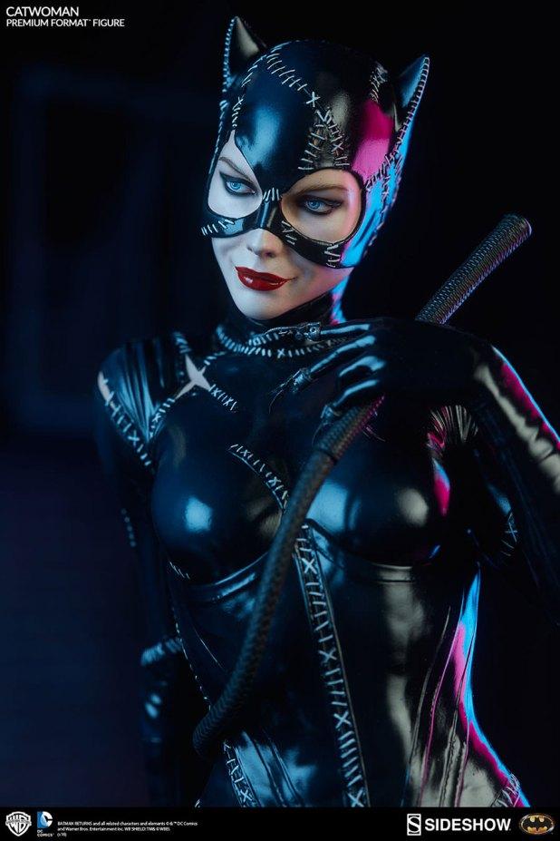 Sideshow-Catwoman-Statue-7-620x930 CatWoman est à l'honneur chez Sideshow avec une nouvelle figurine