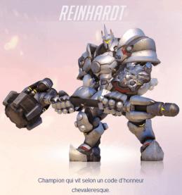 reinhardt Overwatch - notre retour sur la bêta