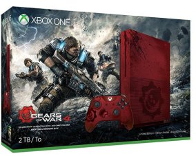 xbox-one-s-gears-of-war-4-limitee-33208 Xbox One S - Deux bundles et une date?