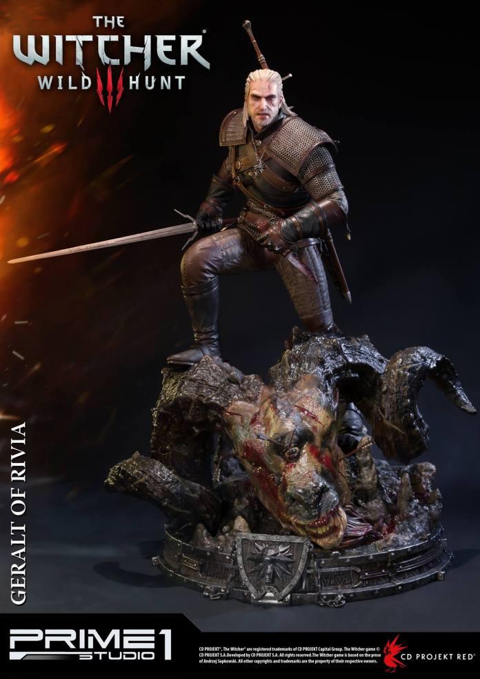 Witcher-3-Geralt-de-Riv-Statue-005 Prime 1 - Une magnifique figurine pour Geralt de The Witcher 3
