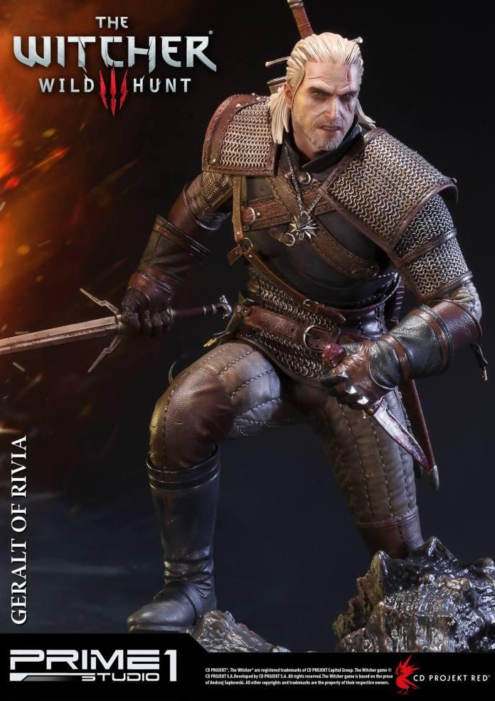 Witcher-3-Geralt-de-Riv-Statue-006 Prime 1 - Une magnifique figurine pour Geralt de The Witcher 3