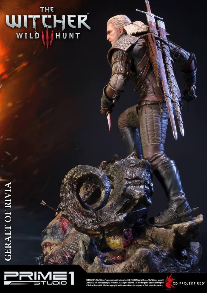 Witcher-3-Geralt-de-Riv-Statue-009 Prime 1 - Une magnifique figurine pour Geralt de The Witcher 3