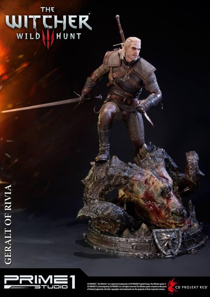 Witcher-3-Geralt-de-Riv-Statue-011 Prime 1 - Une magnifique figurine pour Geralt de The Witcher 3