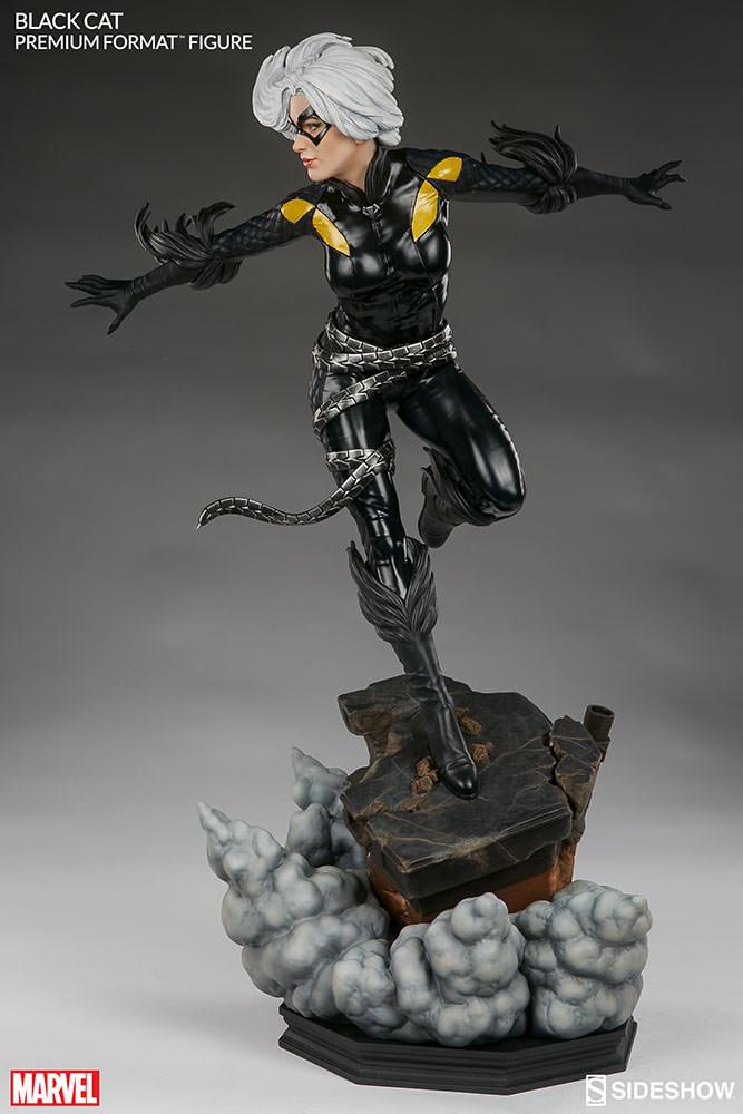 marvel-black-cat-premium-format-300465-06 Figurine – Marvel – Black Cat – Premium Format