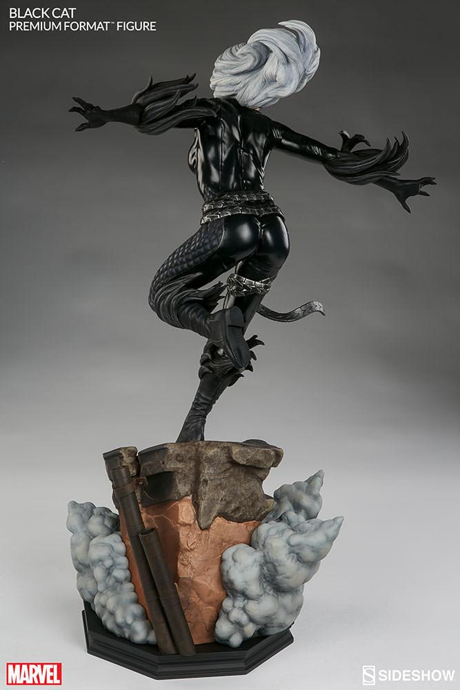 marvel-black-cat-premium-format-300465-07 Figurine – Marvel – Black Cat – Premium Format