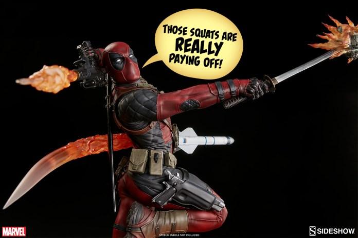 marvel-deadpool-heat-seeker-premium-format-feature-300511-03 Figurine - Deadpool Heat-Seeker
