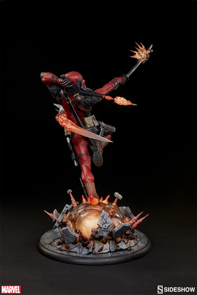 marvel-deadpool-heat-seeker-premium-format-feature-300511-08 Figurine - Deadpool Heat-Seeker