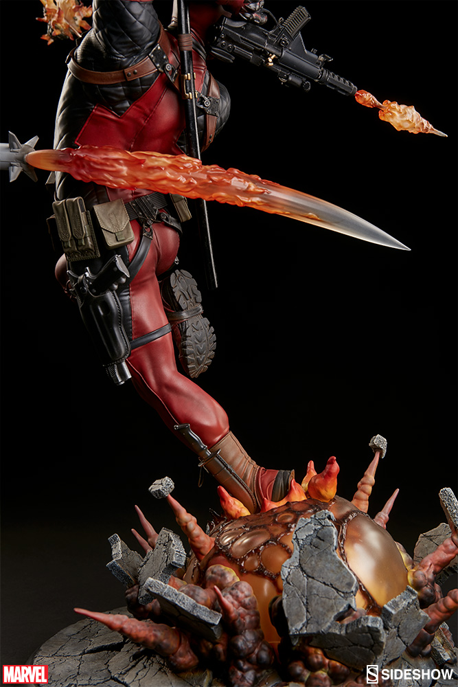 marvel-deadpool-heat-seeker-premium-format-feature-300511-15 Figurine - Deadpool Heat-Seeker