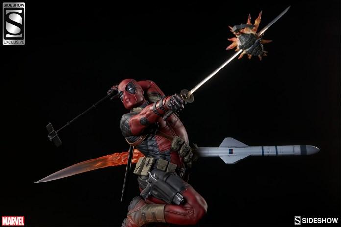 marvel-deadpool-heat-seeker-premium-format-feature-3005111-03 Figurine - Deadpool Heat-Seeker